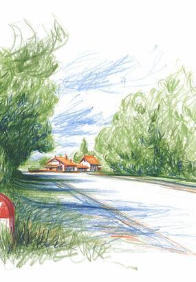 Nationale 7 : route de Aix-en-Provence à Menton