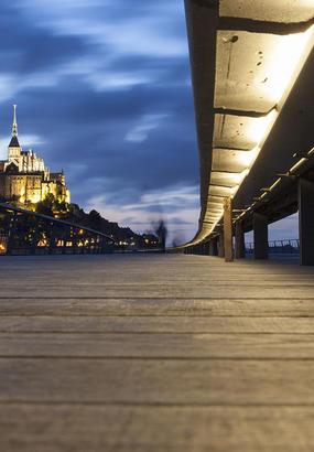 Le Mont-Saint-Michel redevient une île
