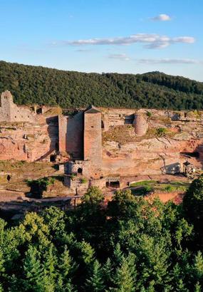 Vosges : sur la route des châteaux forts dAlsace