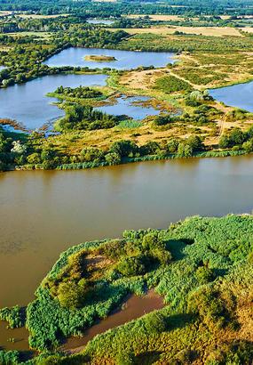 Les étangs de la Brenne : linvention dun paysage