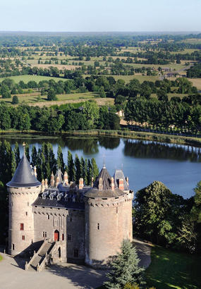 Château de Combourg et Chateaubriand, intimement liés
