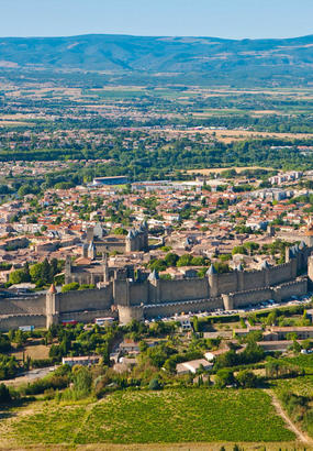 Carcassonne, miracle de pierre