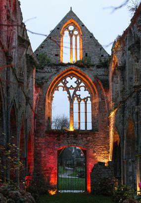 L'Abbaye de Beauport s'illumine pour célébrer Noël