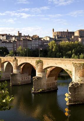 Albi : ville rose au patrimoine mondial de lUnesco