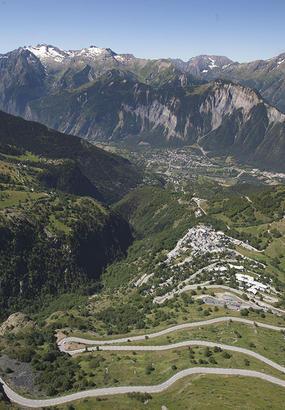 LAlpe-dHuez : les 21 virages du Tour de France