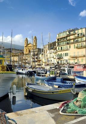 Bastia, porte dentrée sur la Corse