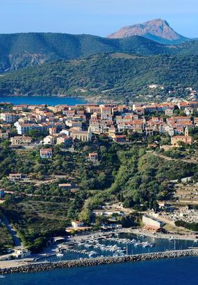 Cargèse, petit village de la côte ouest de Corse