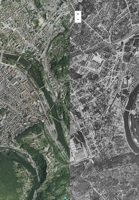 Avant-Après : la France vue du ciel