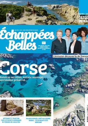 Hors Série Corse avec Echappées Belles et Détours en France