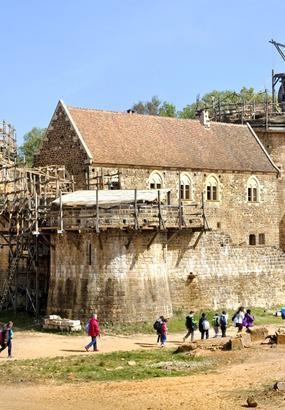 Château de Guédelon : origine dun chantier médiéval