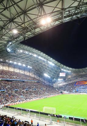 Marseille : un soir de match de l'OM au stade vélodrome