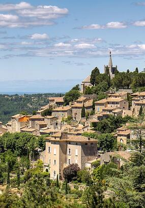Luberon: circuit touristique au départ de Cavaillon