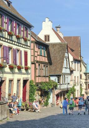 Alsace : circuit touristique sur la route des vins