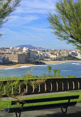 Biarritz, porte du Pays basque