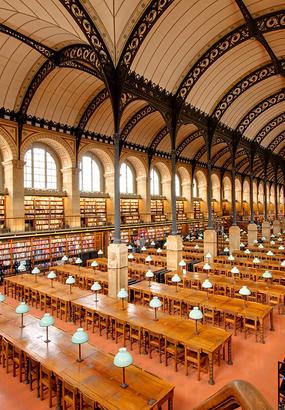 Les plus belles bibliothèques de Paris
