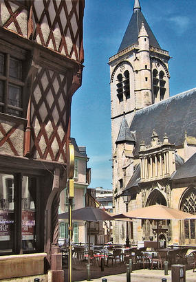 Bourges - Via Lemovicensis