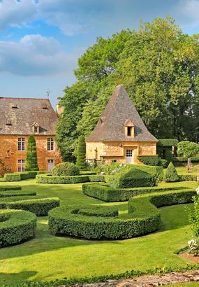 Les jardins dEyrignac, le vert à la Française