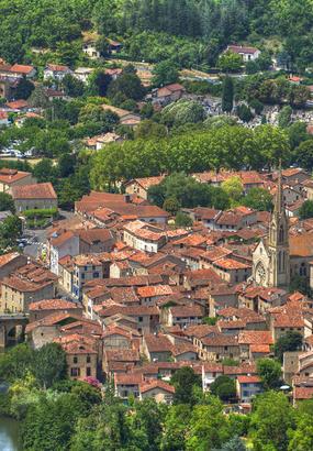 Saint-Antonin-Noble-Val, beau village de Tarn-et-Garonne