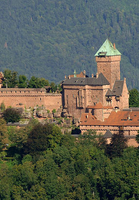 Château du Haut-Koenigsbourg, le rêve fou dun empereur