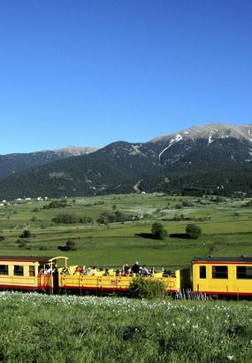Le train jaune des Pyrénées : le plus haut de France