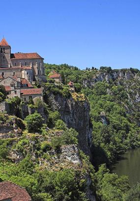 Saint-Cirq Lapopie : village de rêve entre Lot et causse de Limogne