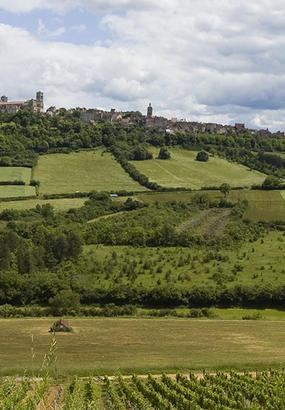 Vézelay, un des plus beaux villages de Bourgogne