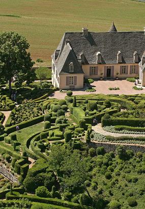 Flâneries dans les jardins suspendus de Marqueyssac