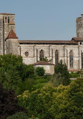 Compostelle : la collégiale Saint-Pierre de La Romieu