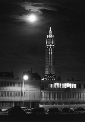 Le Havre en noir et blanc par Bernard Plossu