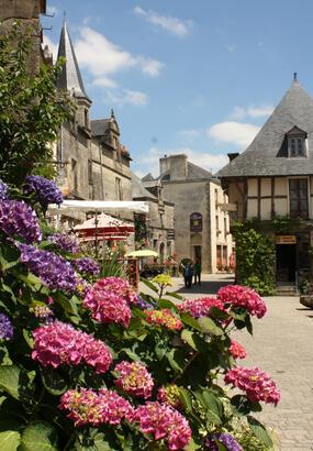 Rochefort-en-Terre, village fleuri de Bretagne