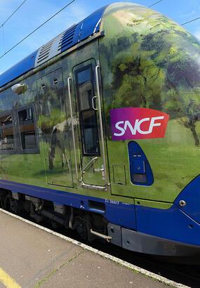 Paris-Normandie : un train sur les traces des Impressionnistes
