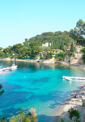 Les plus belles plages des Alpes-Maritimes