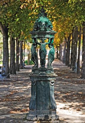 Le mobilier urbain de Paris : témoin du XIXe