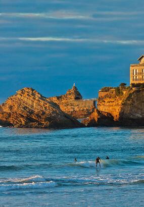 Biarritz : les dessous de la station balnéaire