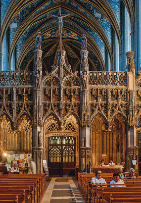 Cathédrale Sainte-Cécile dAlbi, chef doeuvre gothique