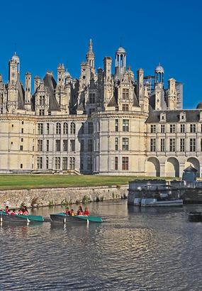 Découvrir les châteaux de la Loire