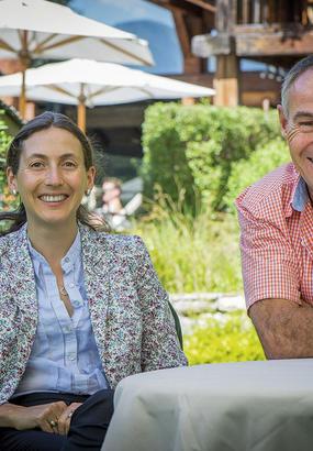La famille Carrier : dune petite pension au Hameau Albert 1er