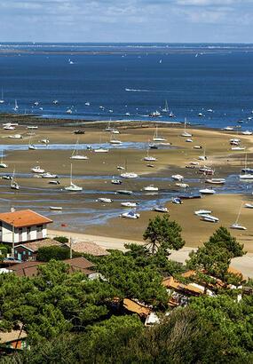 La plage du Bélisaire au Cap-Ferret