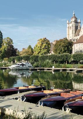 Vivez la Franche-Comté au fil de leau