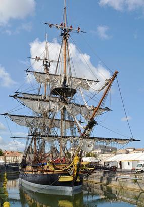 LHermione, linoubliable voyage de La Fayette