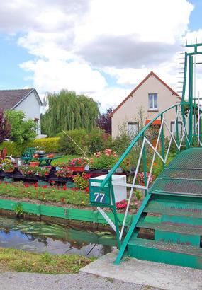 Amiens : balade bucolique aux Hortillonnages