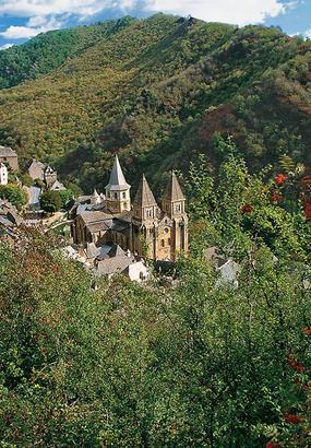 Compostelle : Conques, merveille de lart roman