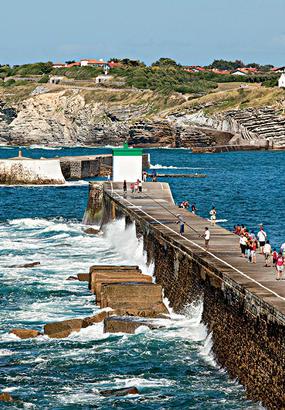 De Saint-Jean-de-Luz à Ciboure : identité chic et maritime