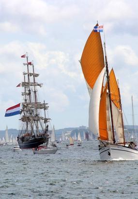 Top 6 des spots idéaux pour admirer les Fêtes Maritimes de Brest
