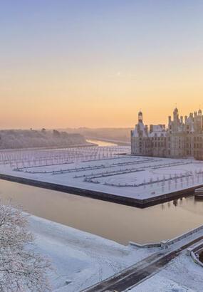 Les plus belles photos de châteaux sous la neige