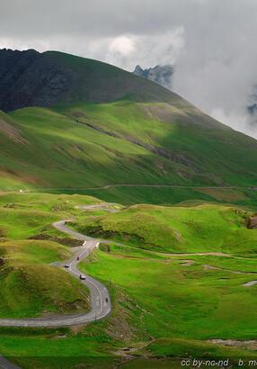La route du Galibier