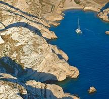 Ile de Ratonneau au large de Marseille