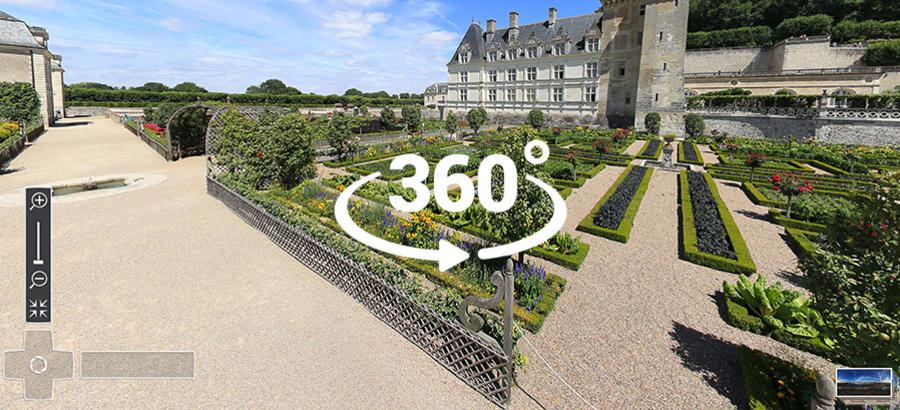 Villandry en 360°