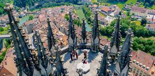 Entre lacs, villes et montagnes, découvrez la région de Fribourg