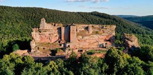 Vosges : sur la route des châteaux forts d'Alsace